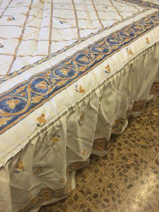 Colcha cama 150 matrimonio