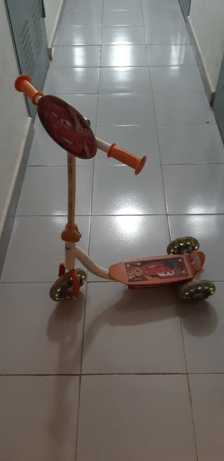 Patinete 3 ruedas Rayo MacQueen