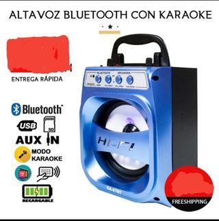 Altavoz Portátil Bluetooth Radio Fm A ESTRENAR