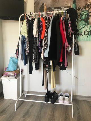 Perchero burro ropa