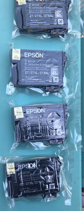 Lote cartuchos impresora EPSON