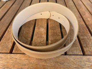 Cinturón Tous beige