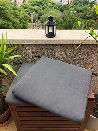 Cojines para silla exterior