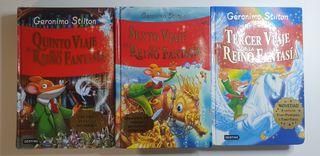 Colección 3 Libros Geronimo Stilton