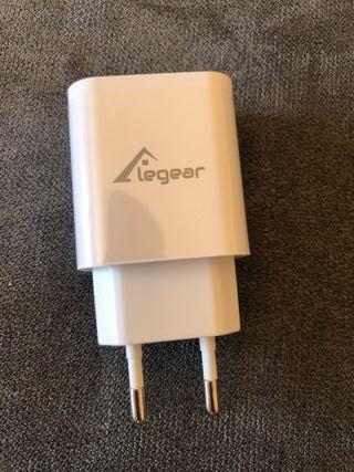 Cargador iPhone iPad iPod USB-C + Cable Lightning