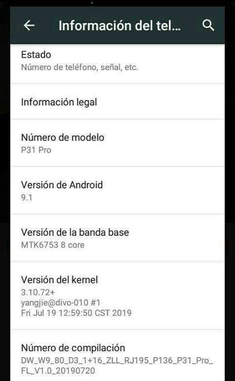 P31 pro móvil nuevo