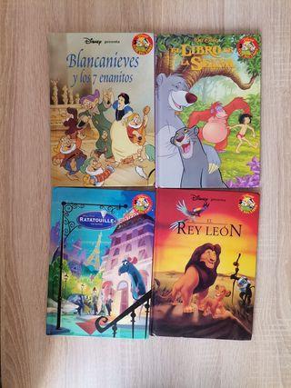 4 libros infantiles, Cuentos clásicos de Disney