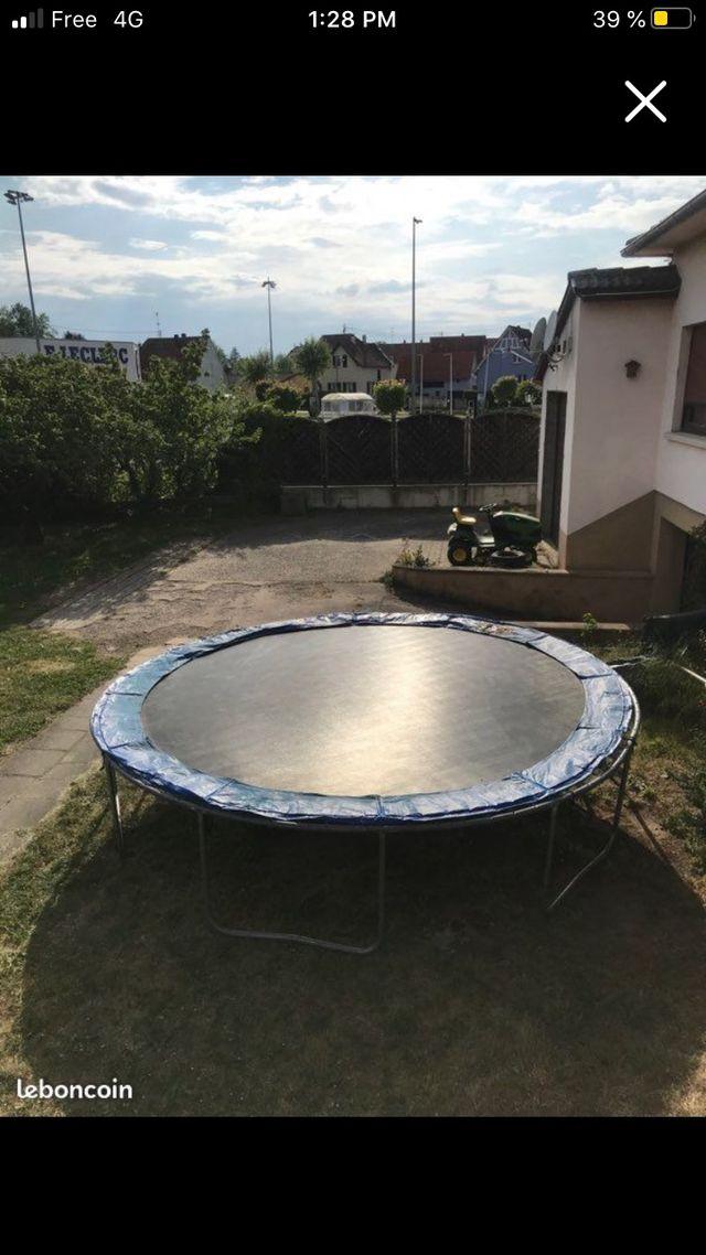 trampoline diamètre 4m30