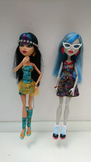 Monster High classroom lab partners