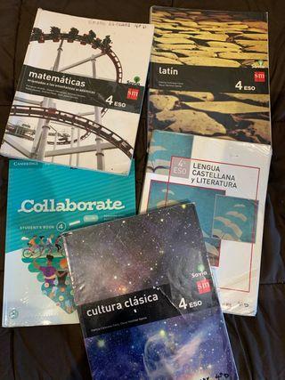 Libros 4 ESO Línea bilingües Condestable