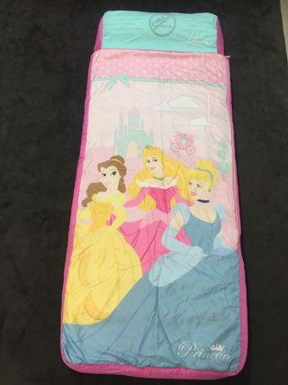 Saco de dormir niña con colchón hinchable