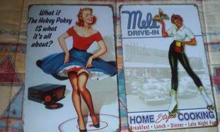 carteles tema vintage