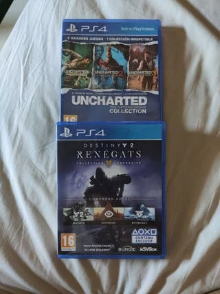 2x1 Collection Uncharted + Destiny