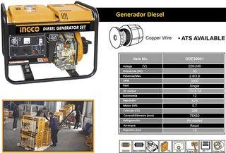 Generador Diesel Ingco