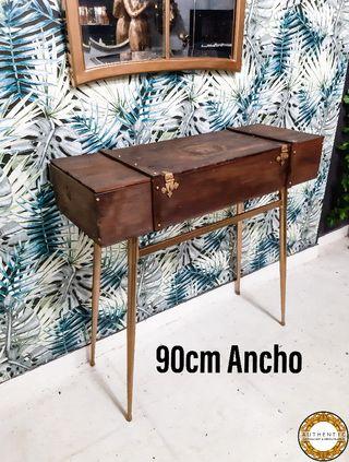 Aparador Baúl Industrial Chic 90cm Ancho Versace