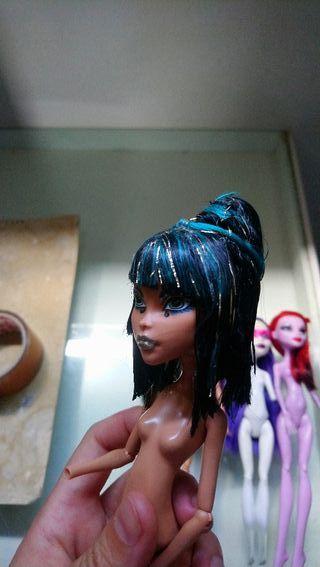 Lote muñecas Monster High para reparar