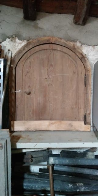 puerta de ventana antigua