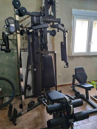 Máquina de gimnasio para hipertrofia