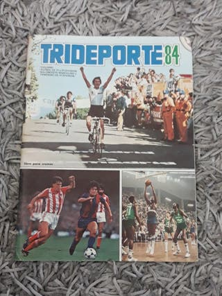 álbum antiguo trideporte 1984