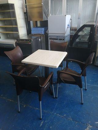 Juegos sillas y mesa de terraza perfecto estado