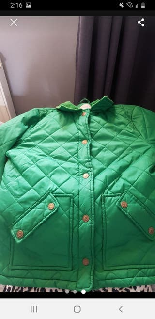 Size 12 river island coat green