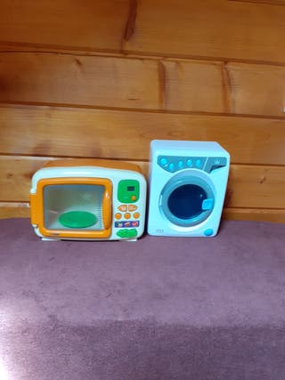vend machine à laver et micro-ondes
