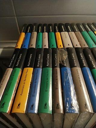 colección libros Agatha christie