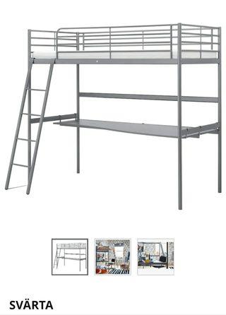 cama Svarta Ikea.