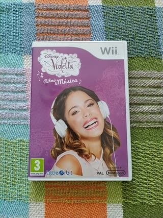 "Juego Wii ""Violetta: Ritmo & Música"""