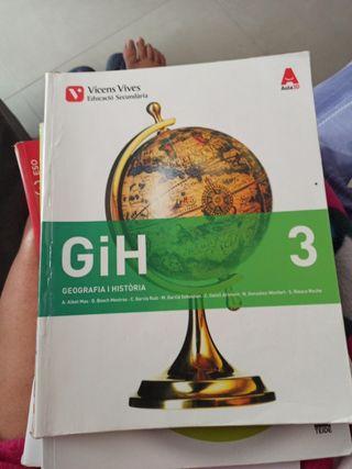 Geografía i història 3 EsO ISBN 9788468231976