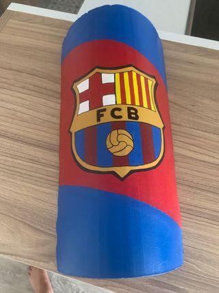 Teja pintada a mano FCB