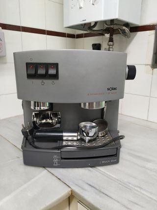 Cafetera Solac Espresso 18 Bar
