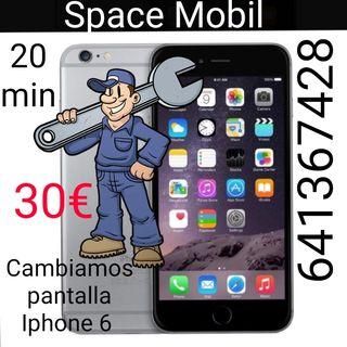 cambiamos pantallas iPhone 6