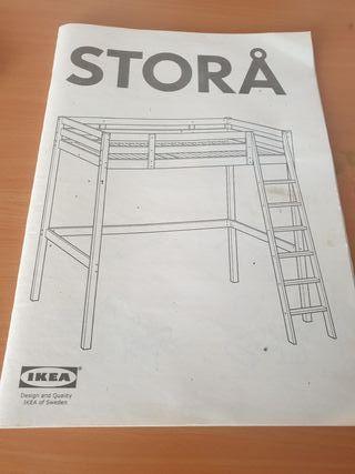 Litera Matrimonial IKEA