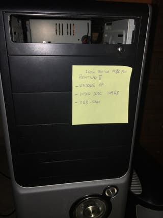 Torre pc Pentium2