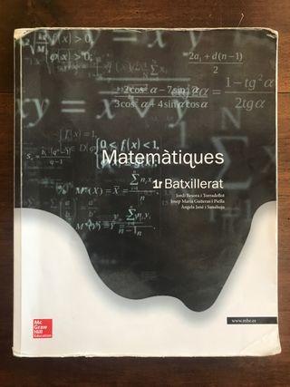 Matemàtiques 1r Bat