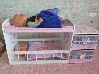 cama litera juguete