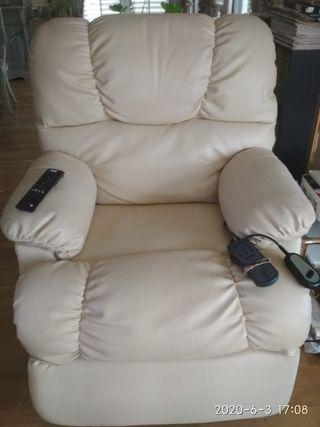 sillón butaca relax masaje