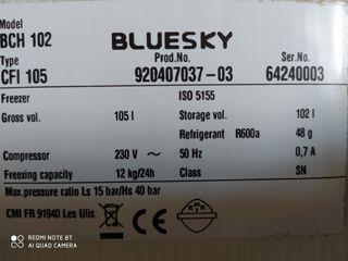 Congelador Bluesky