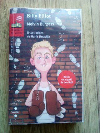 libro Billy Elliot en catalán. 1 ESO