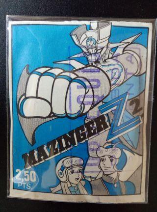 Sobre de cromos Mazinger Z 2 Fher NUEVO SIN ABRIR