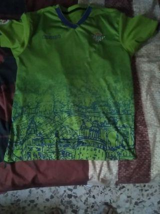 3 camiseta real Betis Balompié del 18/19