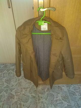 abrigo parka talla 13/14 años