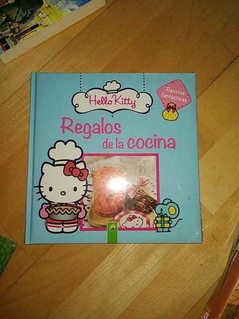 Libro infantil recetas Hello Kitty
