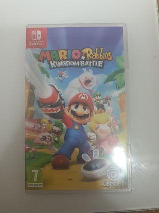 Videojuego de Nintendo swicth Mario Rabbids