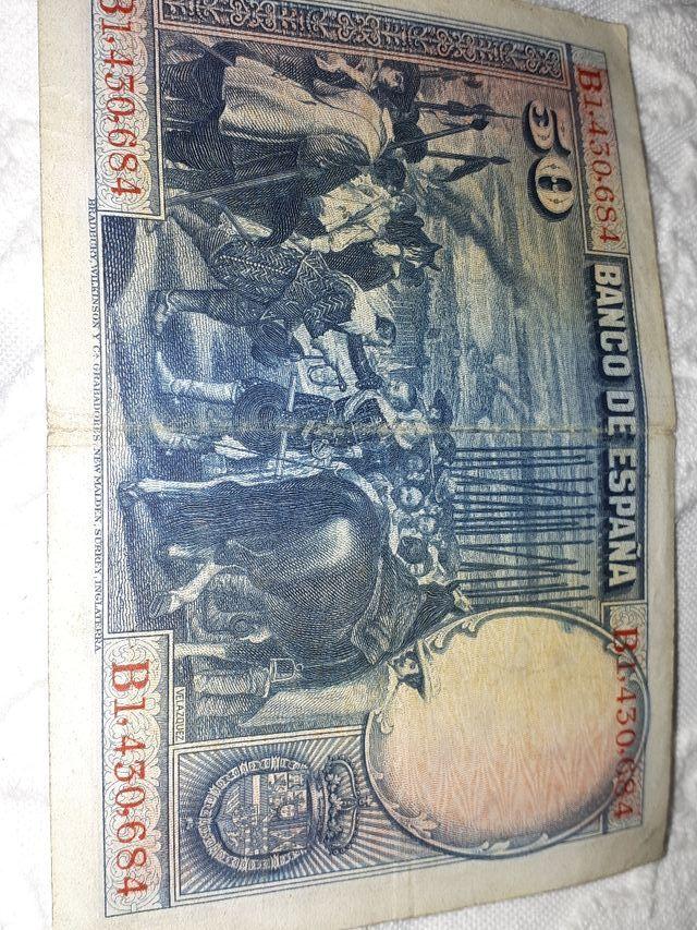billete antiguo
