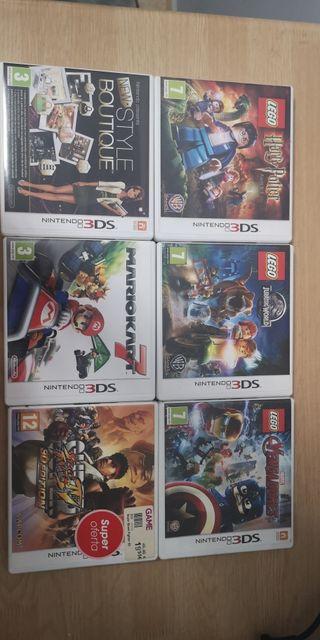 Pack juegos Nintendo 3DS