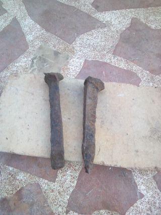 Cinceles de minero antiguo