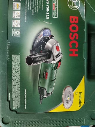 Amoladora Bosch 115mm