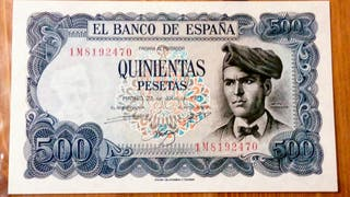 Billete de 500 pesetas 1971
